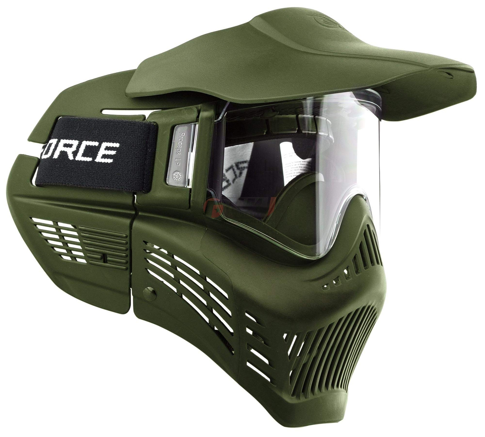 masque de protection paintball armor rental olive paintball funpaintball. Black Bedroom Furniture Sets. Home Design Ideas