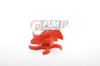 Helice Souple Rouge pour Cyclone Feed Medium