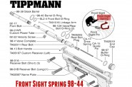 Front Sight Spring pour TIPPMANN 98 BO SO TO 98-44