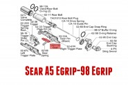 Sear Egrip pour TIPPMANN 98 BO SO TO A5 TA01135