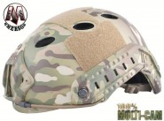 Casque tactique Emerson FAST PJ Molette - Multicam