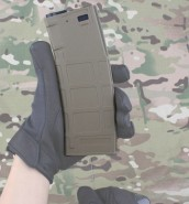Chargeur AEG M4 FLASH Type PMAG 300 TAN