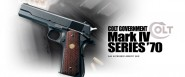 Pistolet Governement Mark IV Series 70 GBB MARUI
