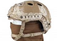 Casque Tactique FAST PJ Molette Digital Desert