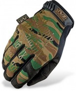 Gants Mechanix Original Camo Woodland Taille S