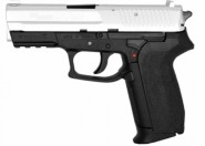 Pistolet 4.5 mm SigSauer SP2022 Culasse Silver CO2