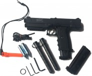 KIT Pistolet defense + 20 Billes gomme Dures + CO2