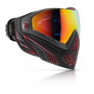 Masque Paintball Dye I5 FIRE Noir et Rouge