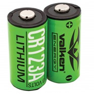 Batterie V-Energy 3V CR123 VALKEN PACK DE 2