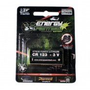 Pile CR123 Batterie Energy Paintball 3V