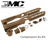 Kit Corp Rails EMC Planet Eclipse Etha Tan Earth