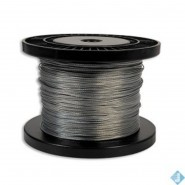 Cable Acier Galva. 100m Fixation Filet Paintball
