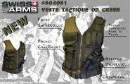 Veste Tactique BT4 Swiss Arms OD Olive
