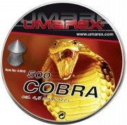 Plombs 4.5 mm Cobra Tête Pointue  0,50 g Umarex