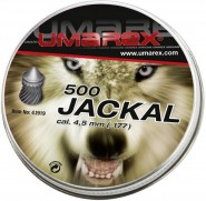 Plombs 4.5 mm Jackal Chasse 0,53 g Umarex