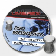 Plombs 4.5 mm Mosquito Tête plate  0,44 g Umarex