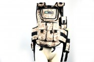 Veste Tactique Paintball Desert Digital Duke